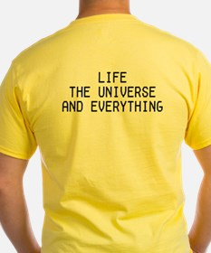 42 - Life, The Universe & Everything T