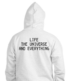 42 - Life, The Universe & Everything Hoodie