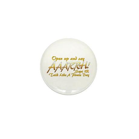 Say ARRRHH! Mini Button