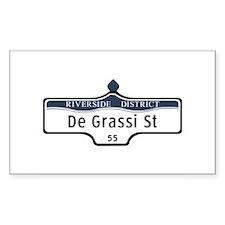 DeGrassi St., Toronto - Canada Decal