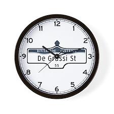 DeGrassi St., Toronto - Canada Wall Clock