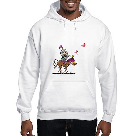 Shining Armor Couple Hooded Sweatshirt