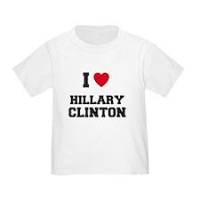 I Love HILLARY CLINTON T