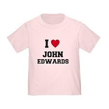 I love John Edwards T