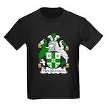 Hodgkinson Family Crest Kids Dark T-Shirt