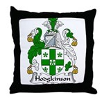 Hodgkinson Family Crest Throw Pillow