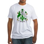Hodgkins Family Crest Fitted T-Shirt