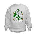 Hodgkins Family Crest Kids Sweatshirt