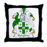 Hodgkins Family Crest Throw Pillow