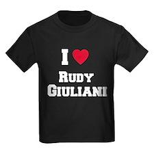 I love RUDY GIULIANI T