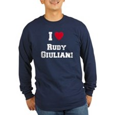 I love RUDY GIULIANI T