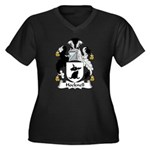 Hocknell Family Crest Women's Plus Size V-Neck Dar