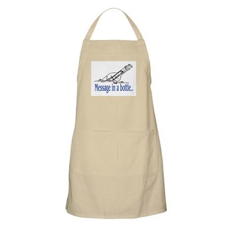 MESSAGE IN A BOTTLE Apron