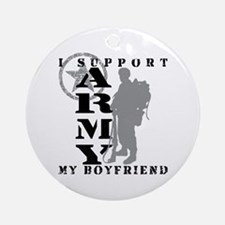 I Support My BF 2 - ARMY Ornament (Round)