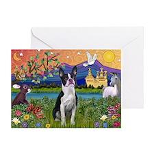 Fantasy Land/Boston T Greeting Card