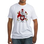 Hoar Family Crest Fitted T-Shirt