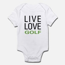 Live Love Golf Infant Bodysuit