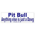 Just Dawg Bumper Sticker