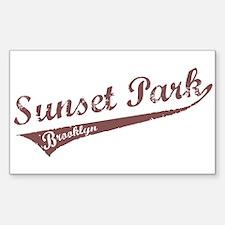 Sunset Park Brooklyn Rectangle Decal