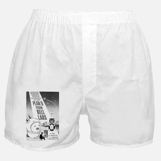 plan9 from bell labs Boxer Shorts