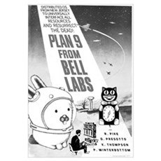 plan9 from bell labs Canvas Art