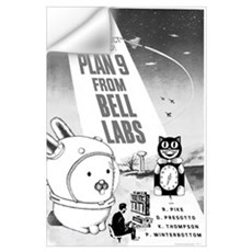 plan9 from bell labs Wall Decal