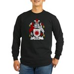 Hirst Family Crest Long Sleeve Dark T-Shirt