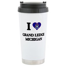 I love Grand Ledge Mich Travel Mug