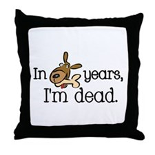 Dog Years Throw Pillow