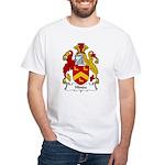 Hinde Family Crest White T-Shirt