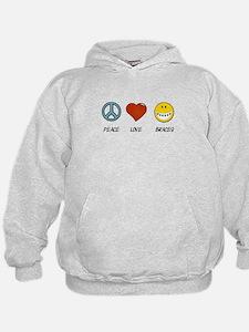 Peace.Love.Braces Hoodie