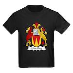 Hinchley Family Crest Kids Dark T-Shirt