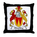Hinchley Family Crest Throw Pillow
