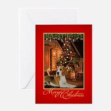 Beagle Christmas Greeting Cards