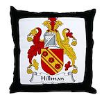 Hillman Family Crest Throw Pillow