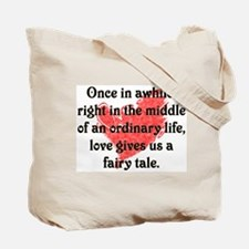 Fairytale Wedding Tote Bag