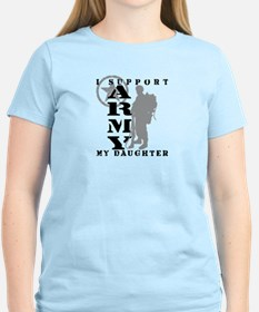 I Support My Daughter 2 - ARMY T-Shirt