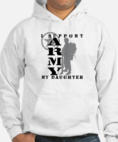I Support My Daughter 2 - ARMY Hoodie