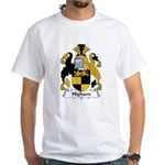 Higham Family Crest White T-Shirt