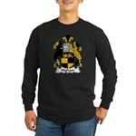 Higham Family Crest Long Sleeve Dark T-Shirt