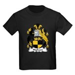 Higham Family Crest Kids Dark T-Shirt