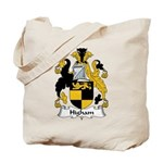 Higham Family Crest Tote Bag