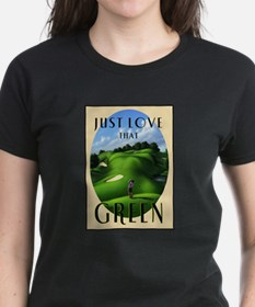 Just Love That Green 3 Tee