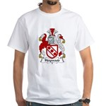 Heywood Family Crest White T-Shirt