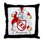 Heywood Family Crest Throw Pillow