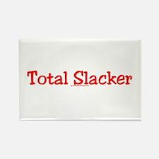 Total Slacker Rectangle Magnet