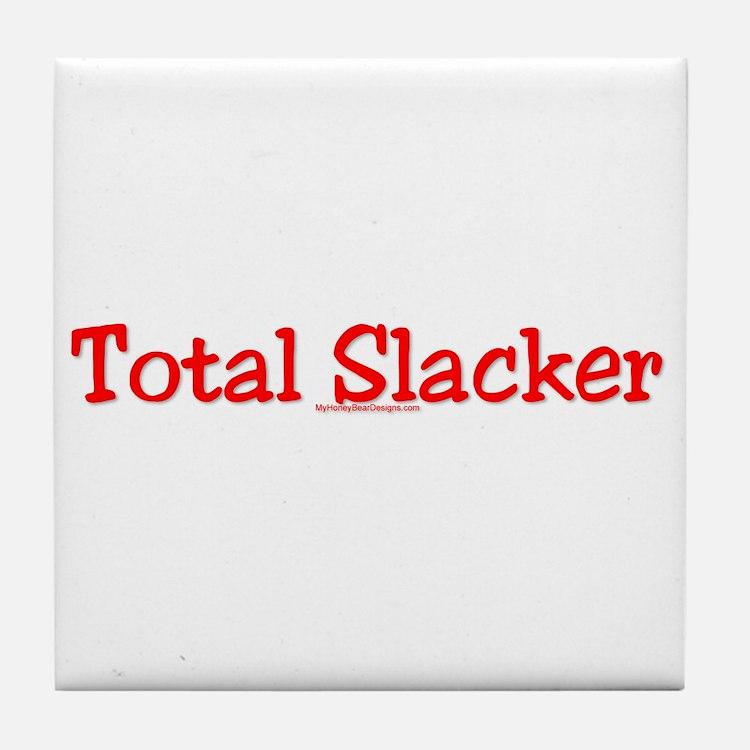 Total Slacker Tile Coaster