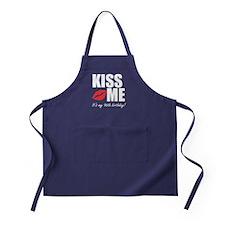 Kiss Me Its My 96th Birthday! Apron (dark)
