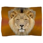 African Lion Pillow Sham