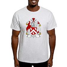 Hewitt Family Crest T-Shirt